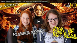 Hunger Games Quiz, Real or Not Real - Nia vs Liv