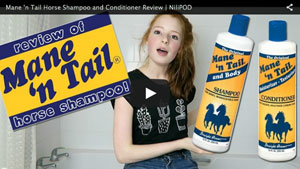 Using Mane 'n Tail horse shampoo