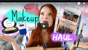 Big Make-Up Haul from Boots, Superdrug and Amazon Stores