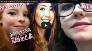 Meeting Actual Zoella in WHSmith