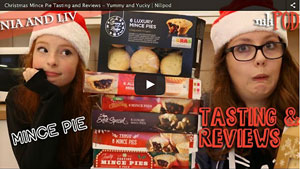 Tasting Supermarket Mince Pies - Yummy or Yucky?