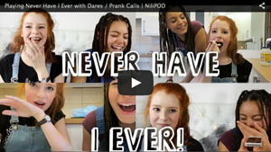 Playing Never Have I Ever game with dares / pranks