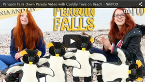 Our Parody Version of the Famous Penguin Falls Down Video