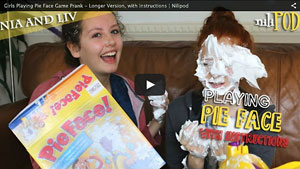 Playing Pie Face - Longer Version, with Instructions