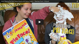 Playing a Messy Game of Pie Face - Short Version