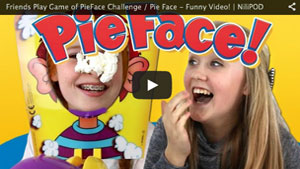Friends Play Game of PieFace Challenge / Pie Face