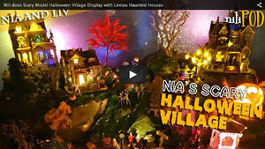 Are You Brave Enough to Watch Nia's Halloween Village Video?