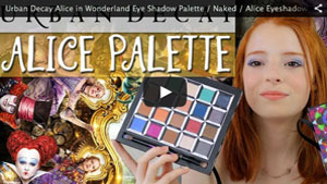 Urban Decay Alice in Wonderland Eye Shadow Palette / Naked / Alice Eyeshadow
