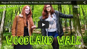 Walking in the Winter Woodland Wonderland