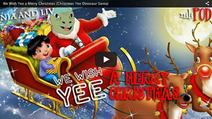 We Wish Yee a Merry Christmas (with the Yee Dinosaur)