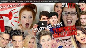 Playing the YouTuber Game - Nia vs Liv