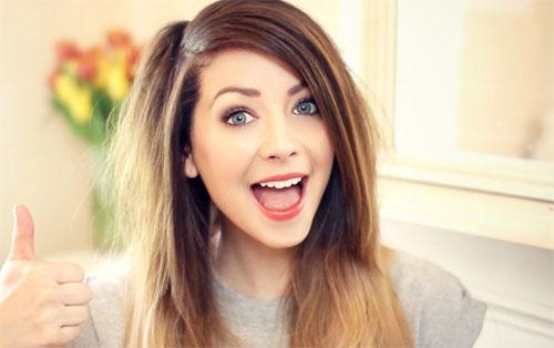 Photo of Zoella, the blogging queen