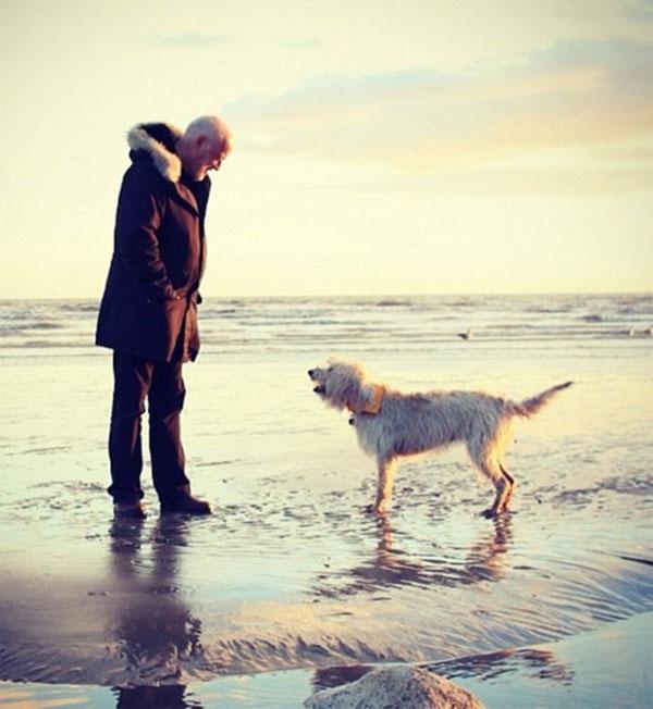 Zoella's man on a beach Instagram photo
